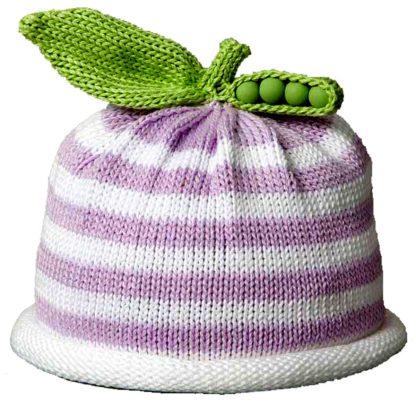 Sweet Pea lavender and white stripe