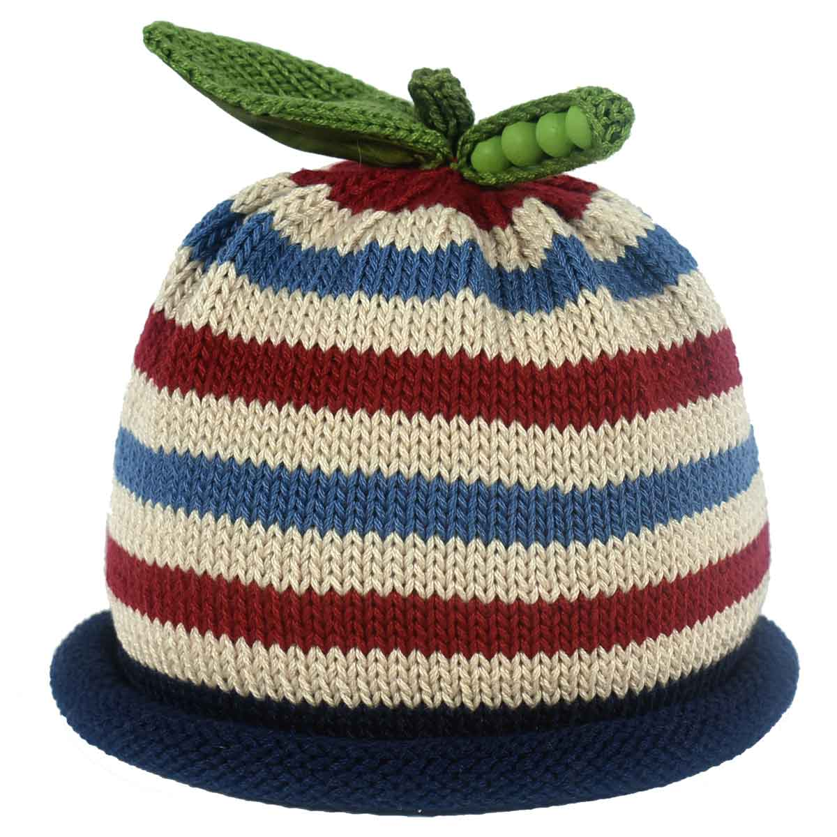 c3a408b5b Sweet Pea Knit Hats - Striped Collection